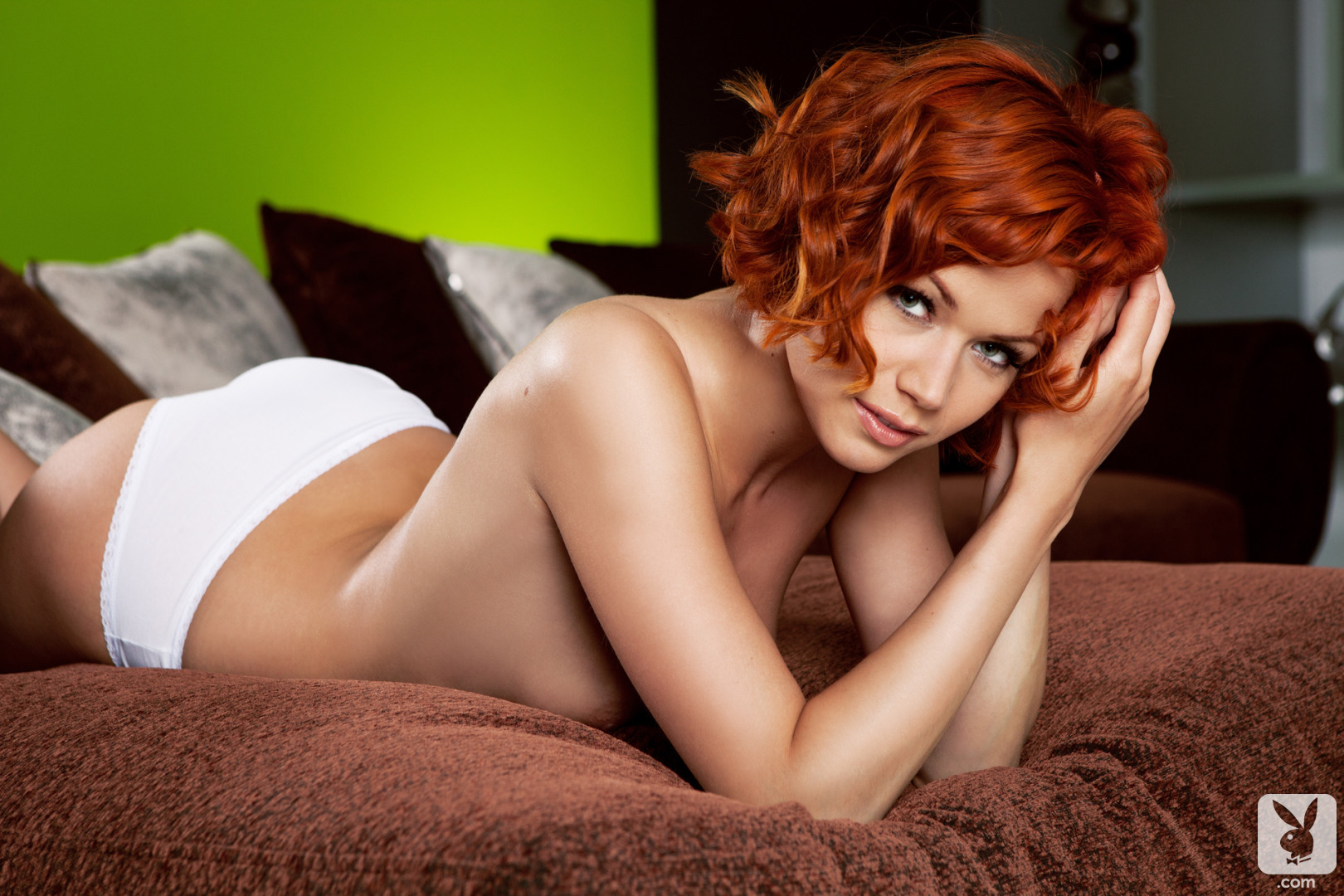 Kami in Just Lounging - Centerfolds Blog