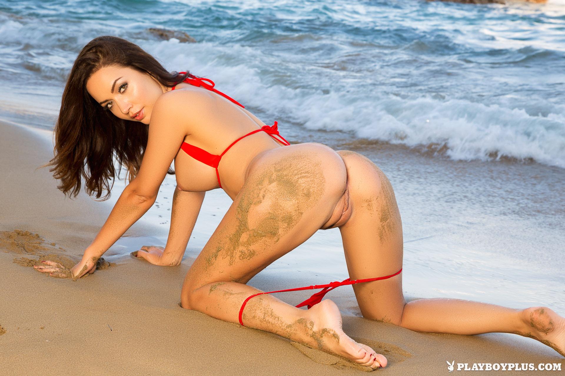Sandy ass sex beach