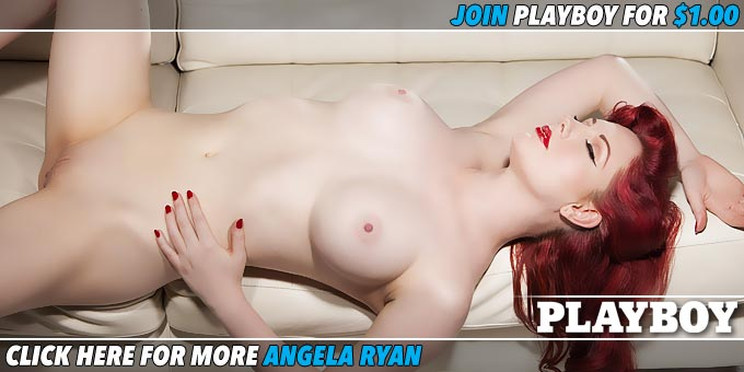 American Pinup Angela Ryan Banner