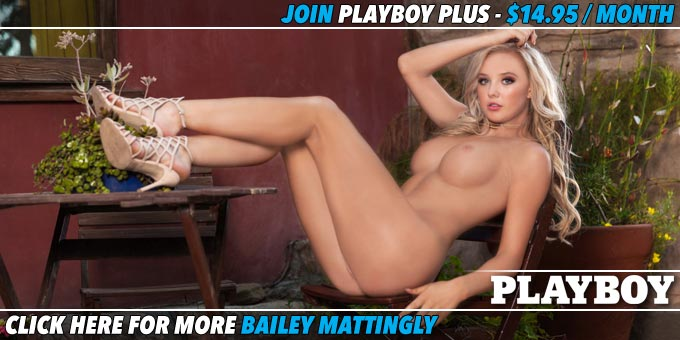 Bailey Mattingly Seriously Sexy Playboy Plus Banner