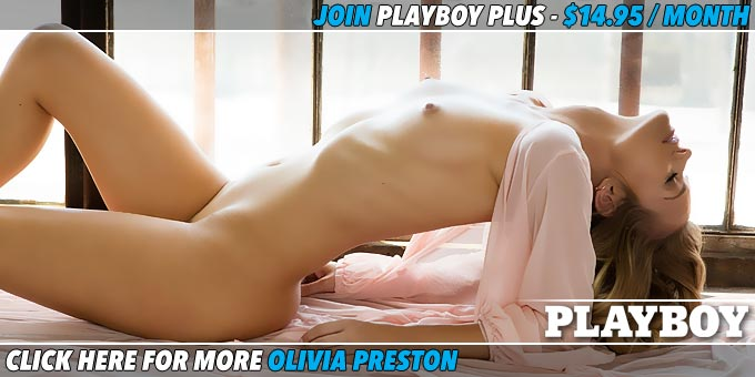 Sheer and Sexy Olivia Preston Banner