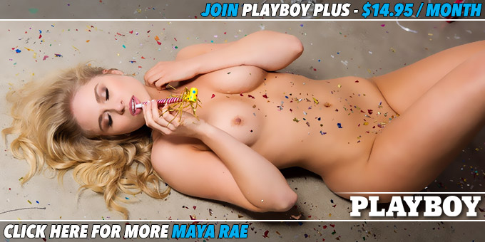 Spreading Cheer Cybergirl Maya Rae banner