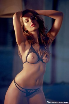 Model Marta Korcz in Playboy Poland