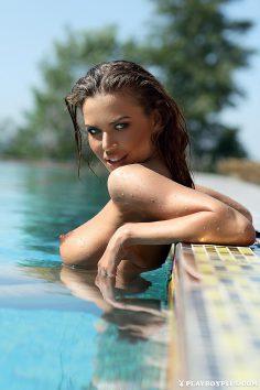 Svitlana Chumachenko in Playboy Ukraine