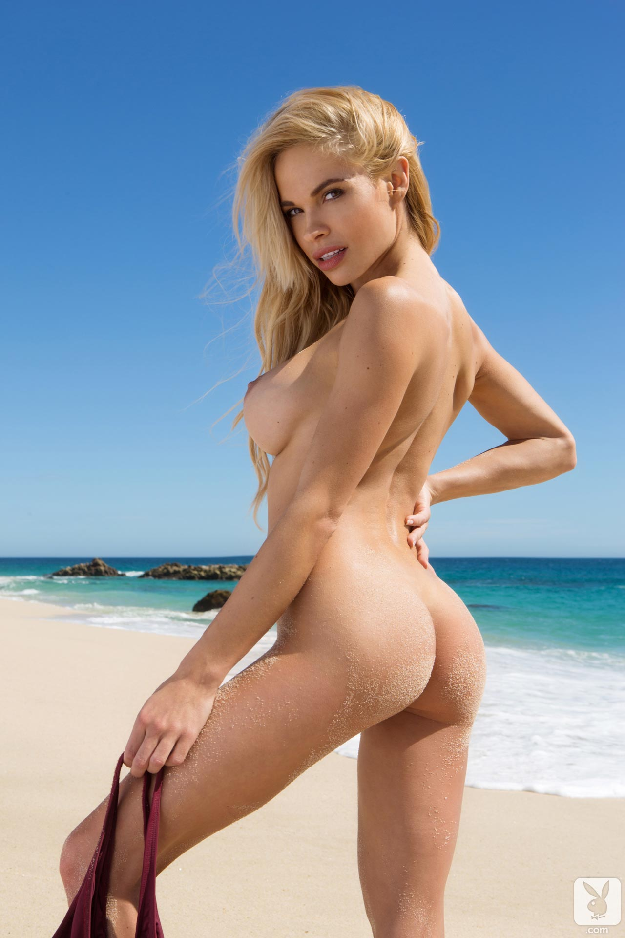 Playboy Playmate Dani Mathers At The Beach Posing Her Sexy -5402
