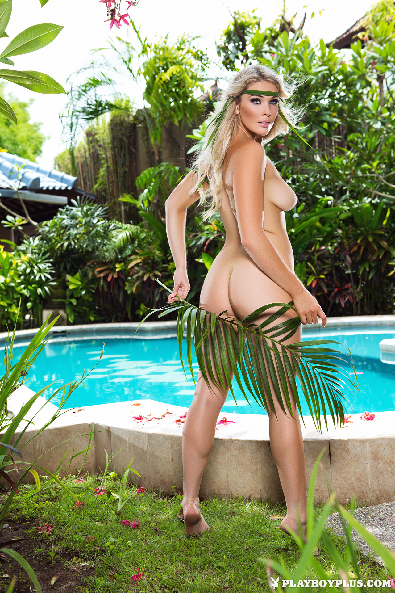 Rebekah Cotton in Skinny Dip - Centerfolds Blog