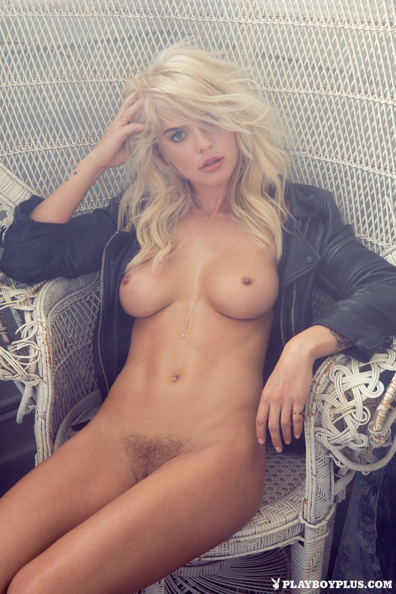 Amazing blonde play mate nudes