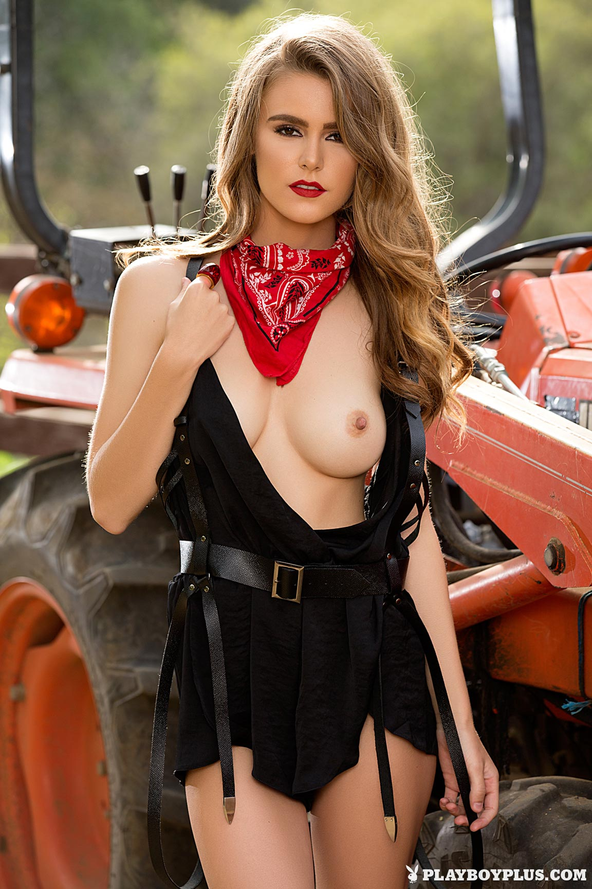Amberleigh West in Hot Harvest - Centerfolds Blog