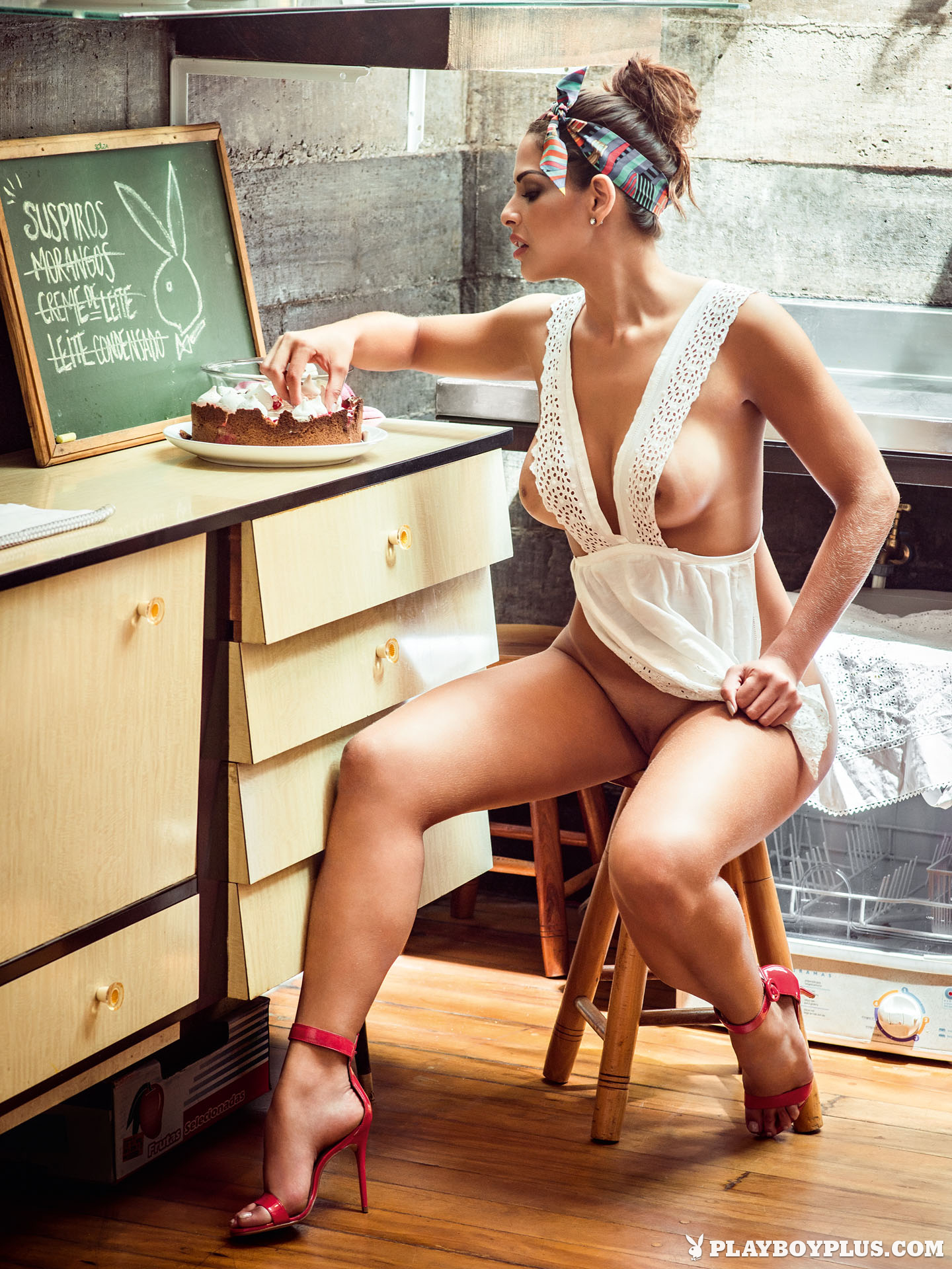 Nuelle Alves in Playboy Brazil - Centerfolds Blog
