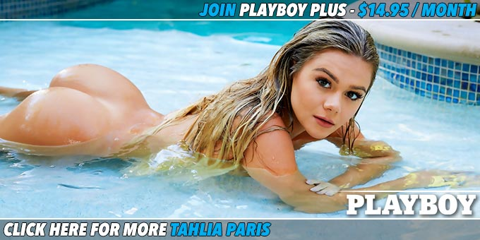Tropical Temptation Cybergirl of the Year Tahlia Paris banner